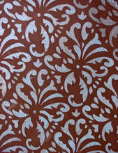 Load image into Gallery viewer, Indian Print Damask Stencil