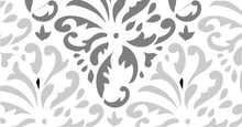 Load image into Gallery viewer, Indian Print Damask - Topper