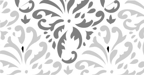 Indian Print Damask - Topper
