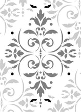 Load image into Gallery viewer, Pompeian Ornament Damask Stencil