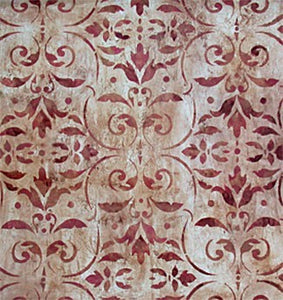 Pompeian Ornament Damask - Topper