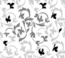 Load image into Gallery viewer, Wandering Ivy Damask Stencil