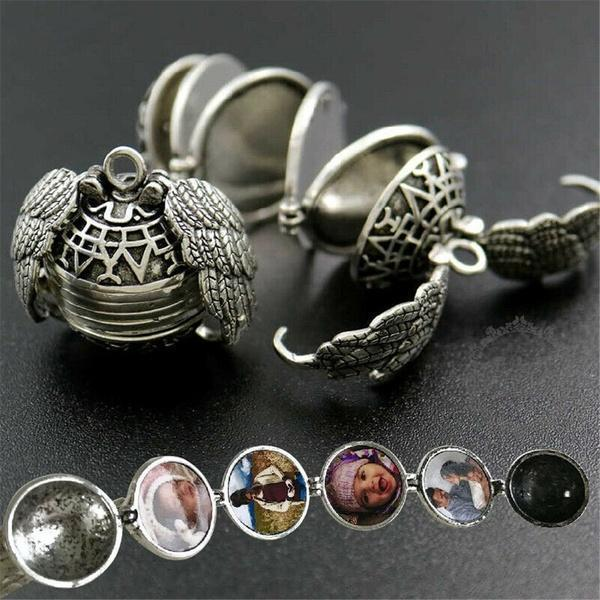 EXPANDING PHOTO LOCKET- 💥Buy two cheaper💥 HK ANTIQUE SILVER【1PC】