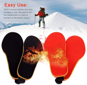 Rechargeable Heating Shoe Insoles