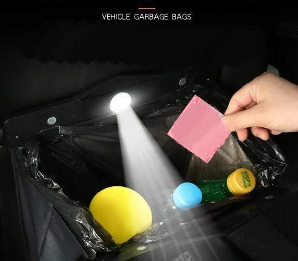 Smart LED Car Trash Can