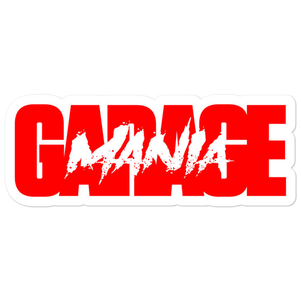 Mania Garage Sticker