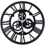 DESIGN WALL CLOCK APPARENT MECHANISM