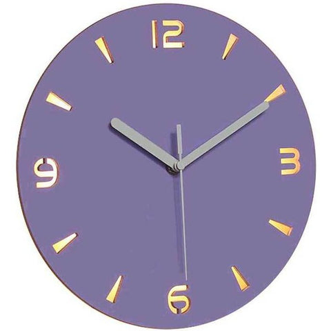 LED WALL CLOCK VIOLET DESIGN