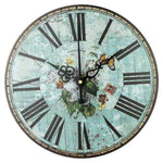 VINTAGE WALL CLOCK MEDITERRANEAN JOURNEY