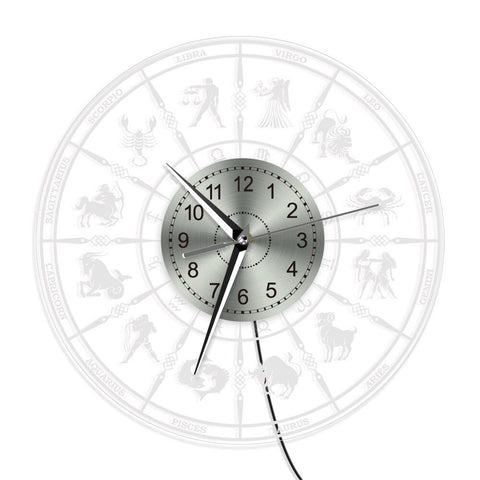LED WALL CLOCK ZODIAC SIGN