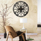 Industrial Wall Clock <br> Large Design