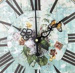 Vintage Wall Clock <br> Mediterranean Journey