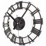 Metal Wall Clock <br> Industrial Style