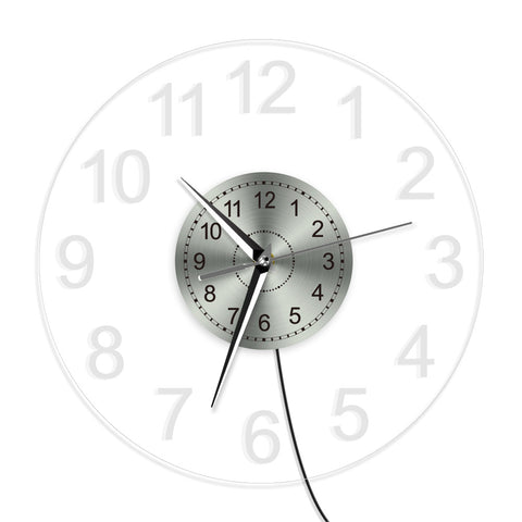 LED WALL CLOCK ARABIC NUMERALS
