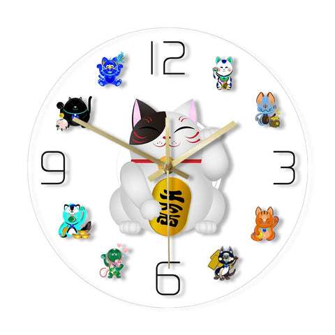 LED WALL CLOCK MAKESHIFT CAT