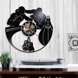 Vinyl Wall Clock <br> Boxing Home
