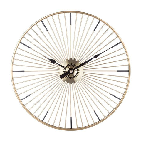 DESIGN WALL CLOCK FORGED IRON