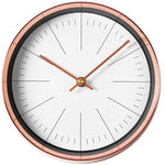 DESIGN WALL CLOCK COPPER