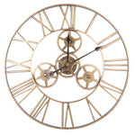 Industrial Wall Clock <br> Giant Steampunk