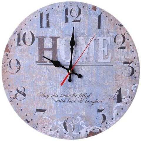 VINTAGE WALL CLOCK HOME