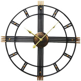 DESIGN WALL CLOCK INDUSTRIAL CIRCLE
