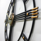 Design Wall Clock <br> Industrial Circle