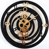 INDUSTRIAL WALL CLOCK FANTASY GEARS