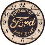Vintage Wall Clock <br> Ford Mustang
