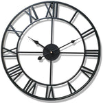 INDUSTRIAL WALL CLOCK CLASSICAL BLACK