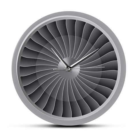 Unique Wall Clock <br> Turbine Design