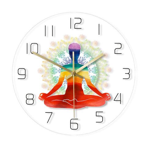 LED WALL CLOCK YOGA