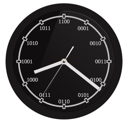 LED WALL CLOCK BINARY