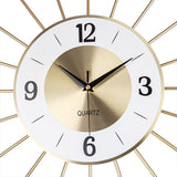 Design Wall Clock <br> Golden Web