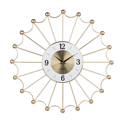 DESIGN WALL CLOCK GOLDEN WEB