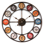 INDUSTRIAL WALL CLOCK FARMHOUSE
