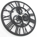 Design Wall Clock <br> Apparent Mechanism