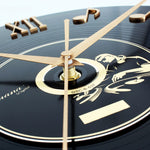 Vintage Wall Clock <br> Vinyl Effect