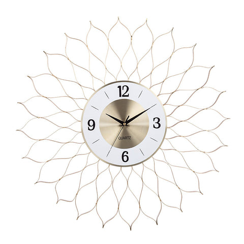 DESIGN WALL CLOCK GREAT ROSE