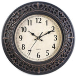VINTAGE WALL CLOCK OLD MOLDINGS