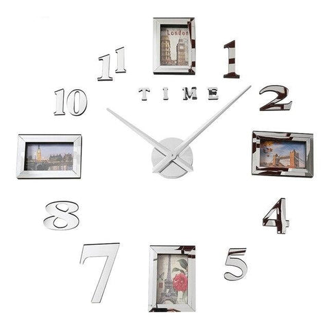 PHOTOS WALL CLOCK PHOTOS FRAMES