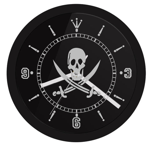 LED WALL CLOCK PIRATE