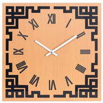 Design Wall Clock <br> Golden Square