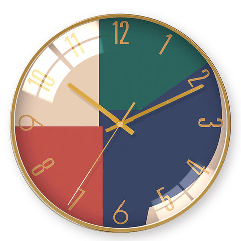 DESIGN WALL CLOCK MODERN COLORS