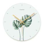 Design Wall Clock <br> Succulents
