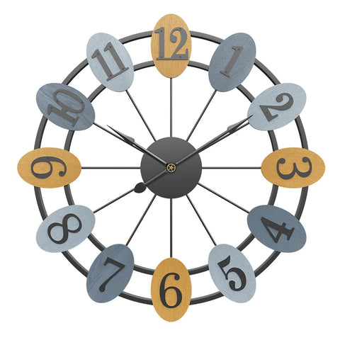 Design Wall Clock <br> Circled Numbers