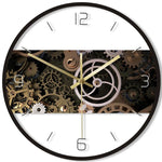 DESIGN WALL CLOCK GEARS