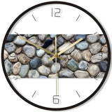 DESIGN WALL CLOCK PEBBLES