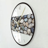 Design Wall Clock <br> Pebbles