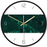 DESIGN WALL CLOCK CONTEMPORARY GREEN