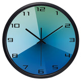Design Wall Clock <br> Degraded Blue